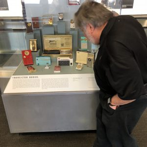 San-Francisco-airport-had-a-display-of-old-radios-and-Woz-found-one-like-the-one-he-had-as-a-kid…he-was-pretty-excited-about-that.
